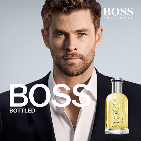 BOSS edt Chris Hemsworth